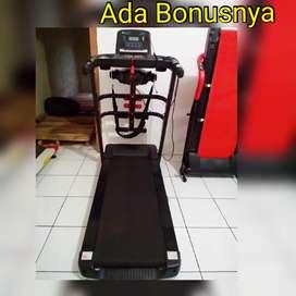 Treadmill elektrik listrik TL 607 import || Sepeda statis Bf34