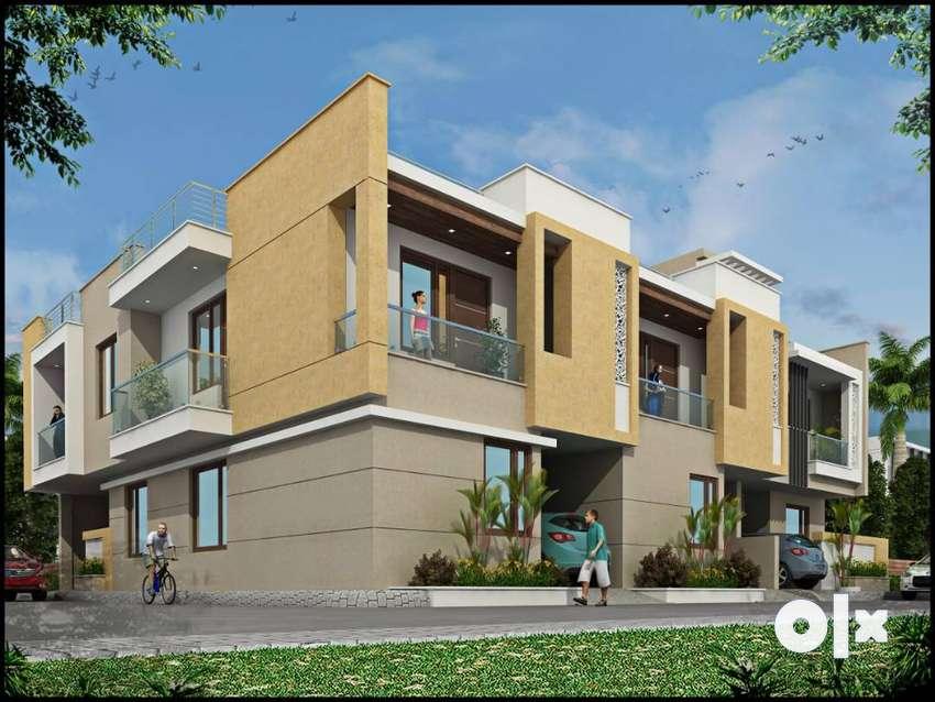 Luxurious Duplex 90 Gaj Villa/ Near 100 Ft Road 0