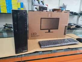 BRANDED DESKTOP COMPUTER SET HOME/OFFICE USE(LENOVO)