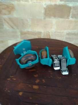 Sepatu roda anak, lengkap