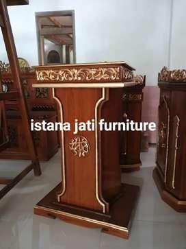 Mimbar Masjid Mimbar Musholla Mimbar Ready stock