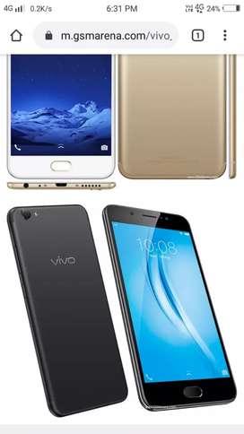 Vivo v5s 4gb ram and 64gb internal storage