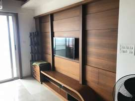Fully furnished flat with branded items at luxury project in side city