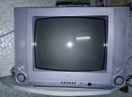 Yashika Colour TV with New Airtel SetTop Box