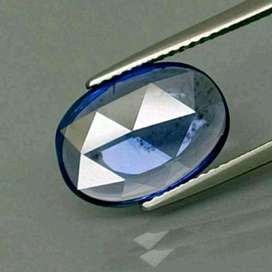 Natural Blue Sapphire 3.61 Carats Natural Color Heat Only Memo