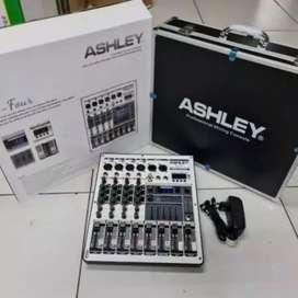 Mixer Ashley M Four Original 4 Channel Bluetooth - USB