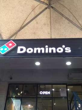 Domino's pizza Tito's  lane