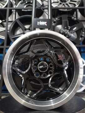 Velg HSR WHEEL Myth04 Ring 16x7/8 H8(100/114,3) Utk Brio,Sigra,Mobilio