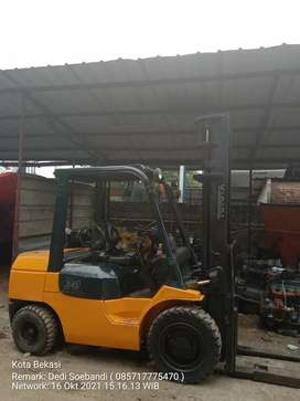Jual Forklift second siap kerja