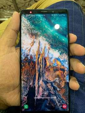 Samsung note 9 excellent condition