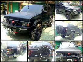 Nissan terrano (Full Modifikasi)
