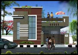 Ground Floor Independent House 150sq.y Are Going To Construct Book Now