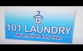 Dibutuhkan karyawan laundry