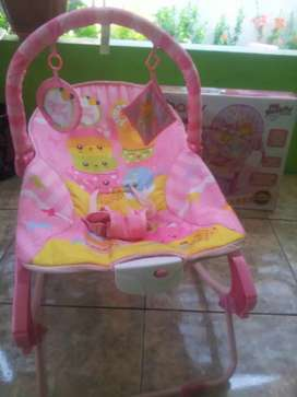 Bouncer bayi (sugar baby) my rocker (10in1) ayun/goyang siap pakai