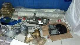 Hydro cyklon, valve and spare partsnya,  alat2 well test drilling