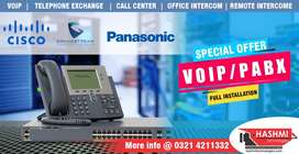 Telephone exchange PABX or VOIP