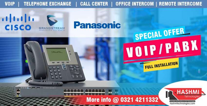 Telephone exchange PABX or VOIP 0