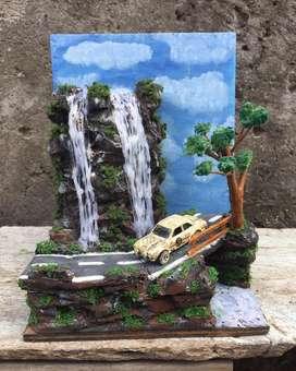 Diecast Diorama Scale 1/64