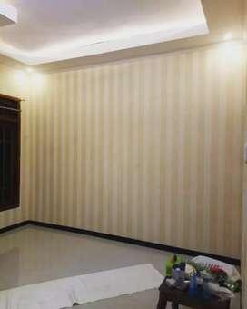 Yuk hiasi dinding ruangan penting anda dengan Wallpaper bahan terbaik