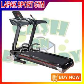 Alat Olahraga Fitness Treadmill Elektrik TL 155 Auto Incline
