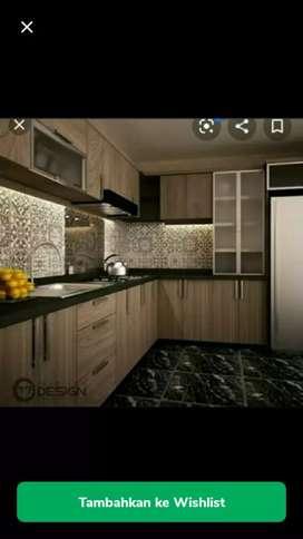 kitchen set, lemari pakaian dll