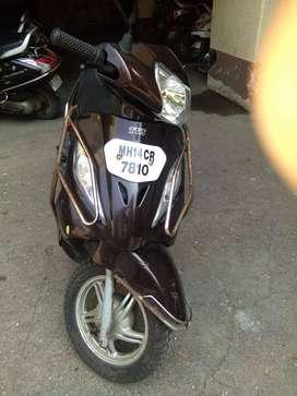 TVS Wego - 2011- cc109 - colour brown