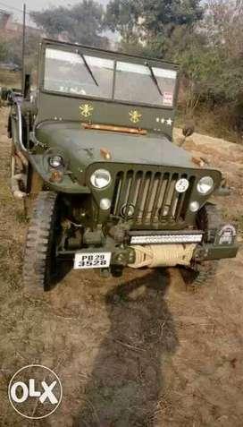 Willys jeep power steering power break 5tyar