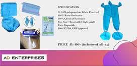 PPE Full KIT 90 GSM  Rs 400/-
