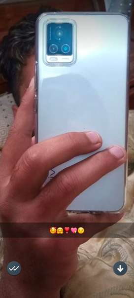 Vivo v 20 used 2 months condition new colour wite