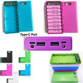 Power Bank Case 8 Rechargeable 18650 Cell