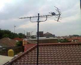 Pasang Antene Antena TV Digital UHF Lokal Outdoor gambar maksimal