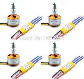 1000KV Motor+ 30 amp esc for quadCOPTER