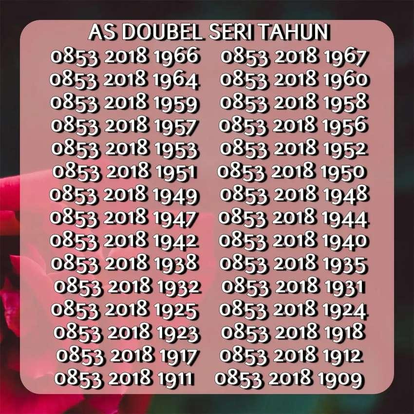 Telkomsel seri tahun rapi 0