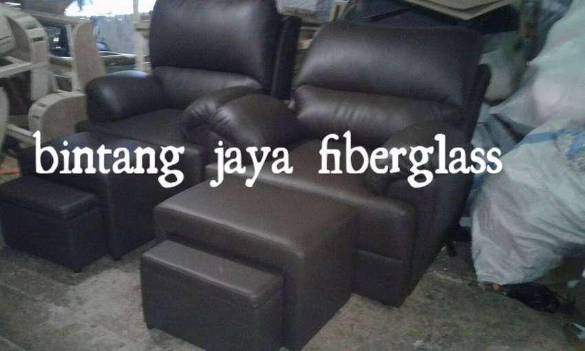 kursi refleksi dakron hitam, sofa pijat atau sofa refleksi 0