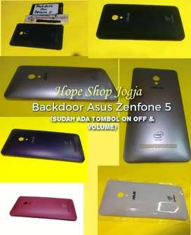 Casing belakang backdoor Asus Zenfone 5 (sudah ada tombol on off)