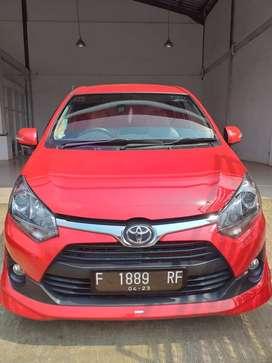 Toyota Agya TRD Warna Merah Tahun 2018 Sangat Istimewa