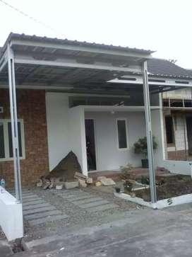 Pemasangan kanopi dan plafon rumah