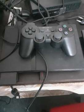 Play station ps 2 with 20 games