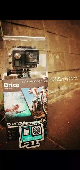 Bpro Brica pro5 action cam Garansi resmi New 16MP 4K Wifi