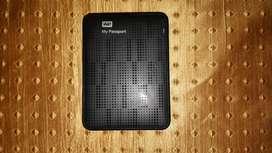 WD My passport 1tb external hard disk