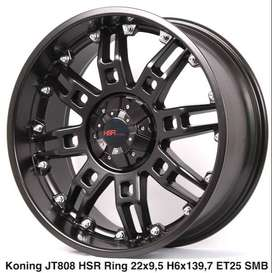 Koning JT808 HSR ring22x95 pcd6x139,7 buat blazer colorado