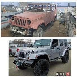 Jeep Rubicon  Bodyshell