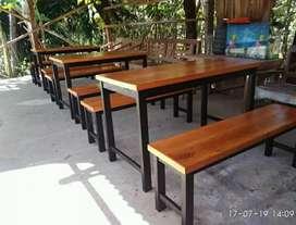 (Promo special)meja set cafe/meja makan resto