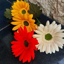 Bunga flanel Garbera