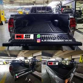 Bed liner lapis bak mobil agar tidak lecet dan karat