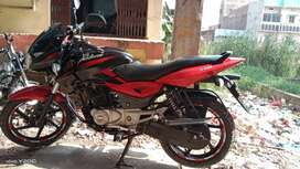 Pulser 2015 for sale in excellent condition single hand Rs.45000.00