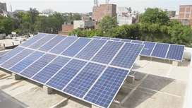 10KW Solar Power Plant in lucknow