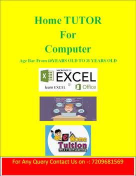 Home Tutor For Computer Classes