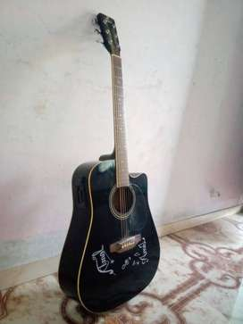 Pluto Electro-acoustic Guitar with inbuilt Equalizer