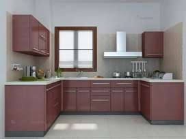 Customized Wood Kitchen cabinets (kharian cantt, lalamusa, gujrat,)